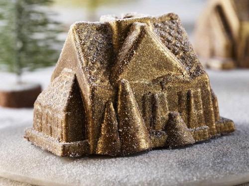 Asda Christmas Cottage dessert