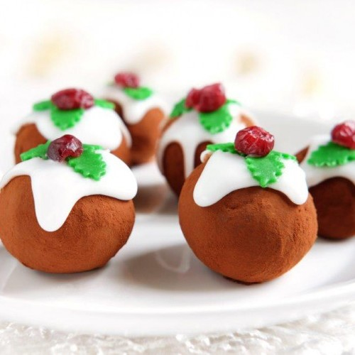 Christmas Brandy Truffles