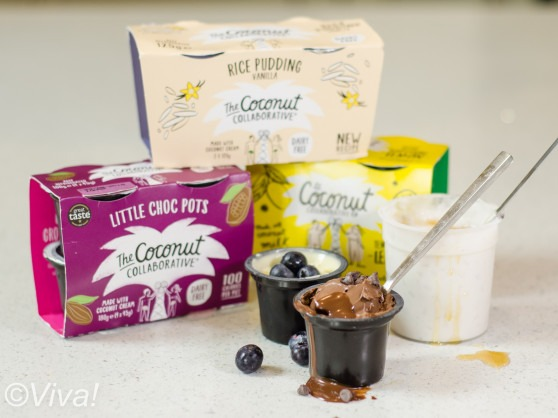 the coconut collaborative vegan desserts selection