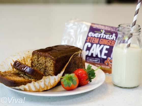 everfresh vegan stem ginger cake