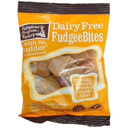 vegan fudge bites