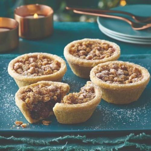 morrison's crumble mince pies vegan