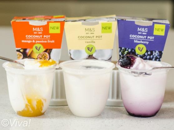 M&S vegan dessert pots