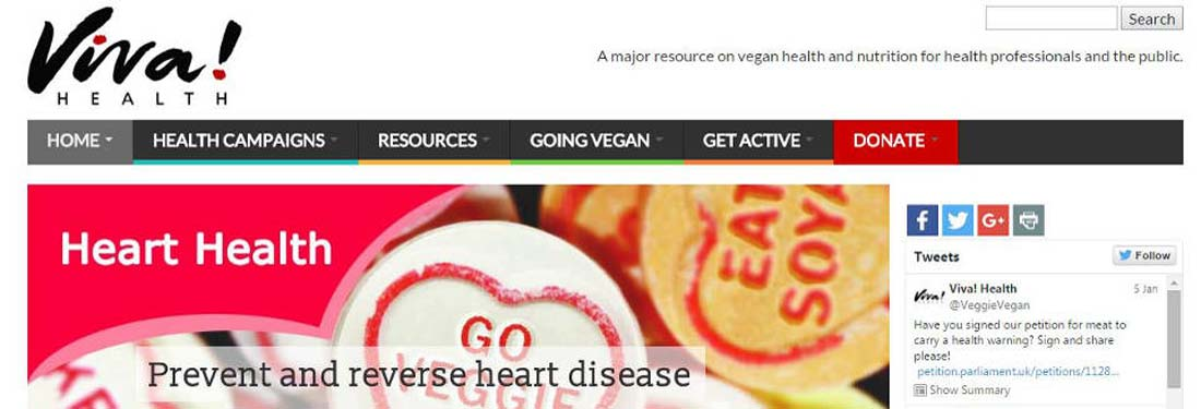 Viva!Health and Viva! websites revamped and relaunched