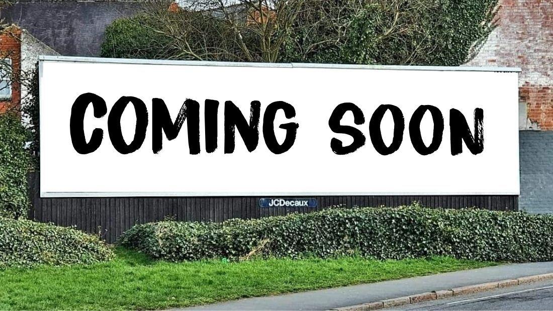 Teaser billboard