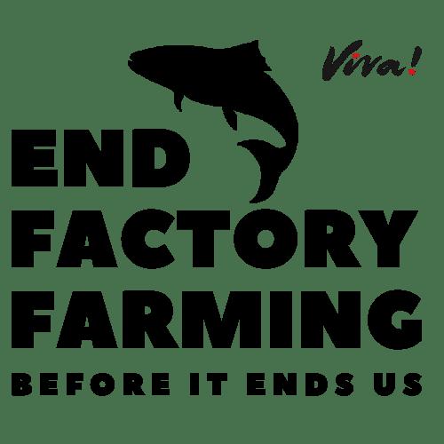 end factory farming logo fish version