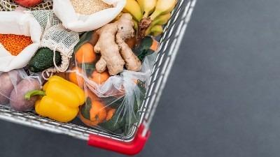 vegan food shopping