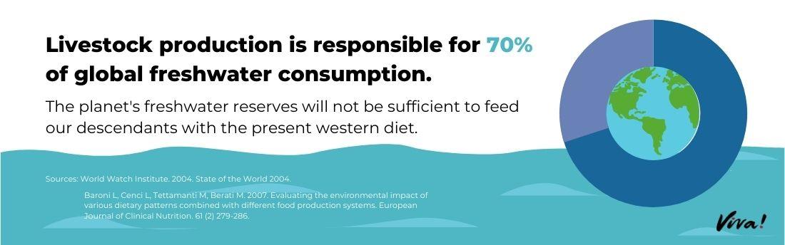 livestock production freshwater consumption