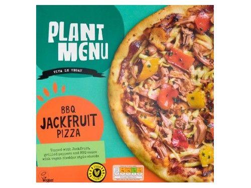 aldi bbq jackfruit vegan pizza