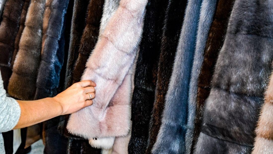 choosing fur coat