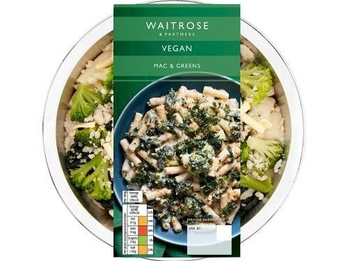 mac and greens from waitrose