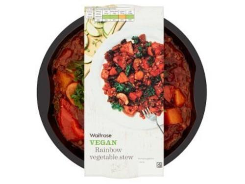 waitrose vegan rainbow stew product