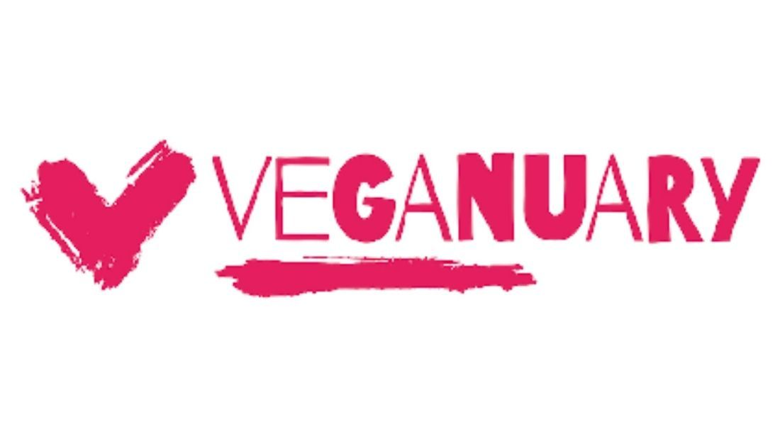Pink Veganuary Logo