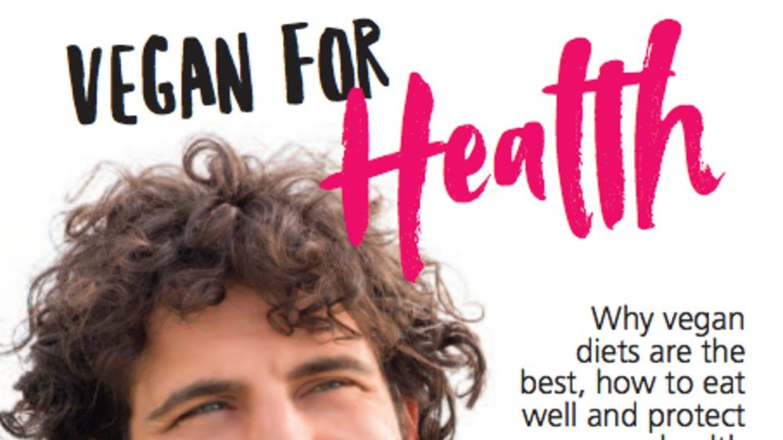 vegan for health guide cover image