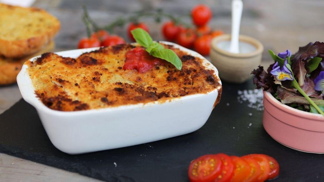 Traditional Vegan Lasagne