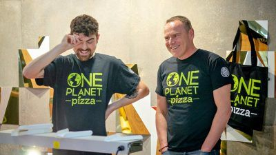 Mike and Joe from One Planet Pizza