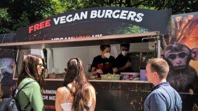 The Vegan Burger van