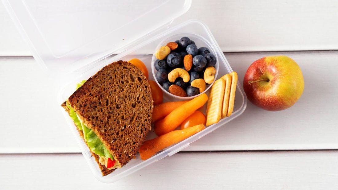 healthy vegan lunchbox